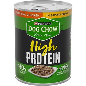 Dog Chow High Protein Chicken in Savory Gravy Canned Dog Food