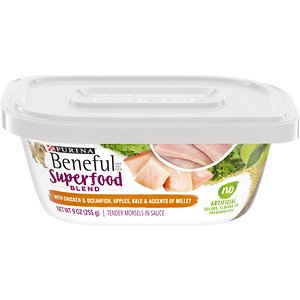 Purina Beneful Superfood Blend With Chicken & Oceanfish in Sauce Wet Dog Food