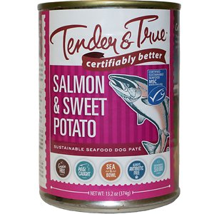 Tender & True Limited Ingredient Salmon & Sweet Potato Recipe Grain-Free Wet Dog Food