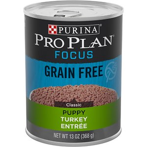 Purina Pro Plan Focus Puppy Classic Turkey Entree Grain-Free Canned Dog Food
