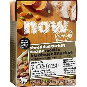 Now Fresh Grain-Free Small Breed Shredded Turkey Recipe Wet Dog Food
