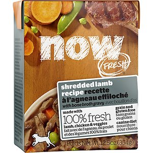 Now Fresh Grain-Free Shredded Lamb Recipe Wet Dog Food
