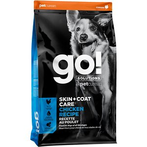 Go! Solutions Skin + Coat Care Chicken Recipe Dry Dog Food