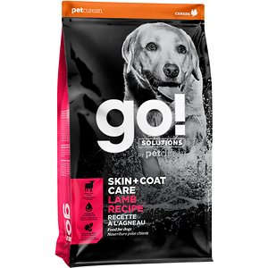 Go! Solutions Skin + Coat Care Lamb Recipe Dry Dog Food