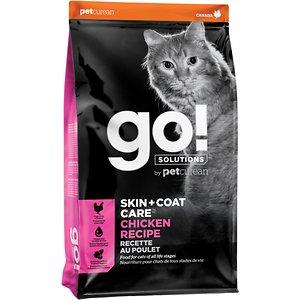 Go! Solutions Skin + Coat Care Chicken Recipe Dry Cat Food