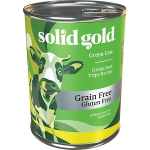 Solid Gold Green Cow Green Beef Tripe in Beef Broth Grain-Free Canned Dog Food