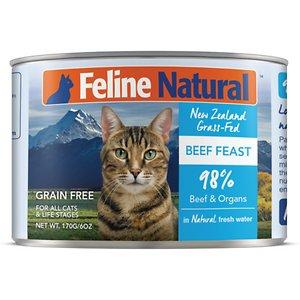 Feline Natural Beef Feast Grain-Free Canned Cat Food