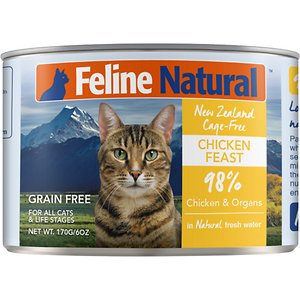 Feline Natural Chicken Feast Grain-Free Canned Cat Food