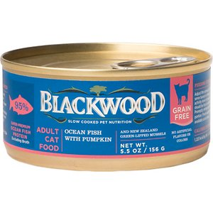 Blackwood Ocean Fish & Pumpkin Grain-Free Adult Canned Cat Food