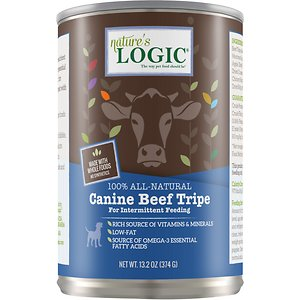 Nature's Logic Canine Beef Tripe Grain-Free Canned Dog Food