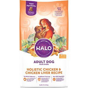 Halo Holistic Chicken & Chicken Liver Adult Dry Dog Food
