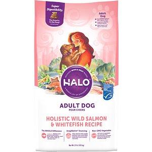 Halo Holistic Wild Salmon & Whitefish Adult Dry Dog Food