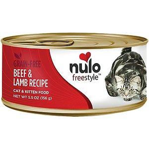 Nulo Freestyle Beef & Lamb Recipe Grain-Free Canned Cat & Kitten Food