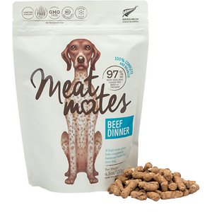 Meat Mates Beef Dinner Grain-Free Freeze-Dried Dog Food