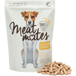 Meat Mates Chicken Dinner Grain-Free Freeze-Dried Dog Food