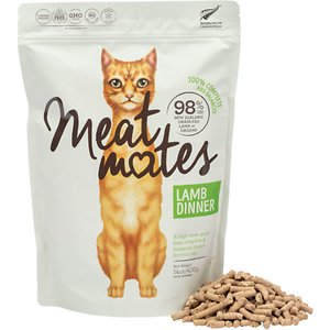 Meat Mates Lamb Dinner Grain-Free Freeze-Dried Cat Food