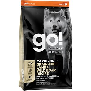 Go! Solutions Carnivore Grain-Free Lamb + Wild Boar Recipe Dry Dog Food