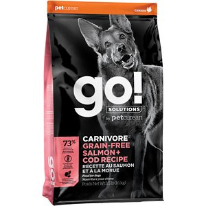 Go! Solutions Carnivore Grain-Free Salmon + Cod Recipe Dry Dog Food