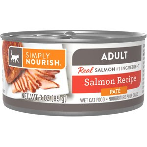 Simply Nourish Essentials Salmon Recipe Adult Pate Canned Cat Food