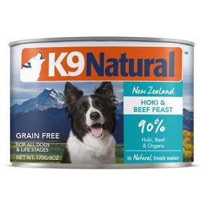 K9 Natural Hoki & Beef Grain Free Canned Dog Food