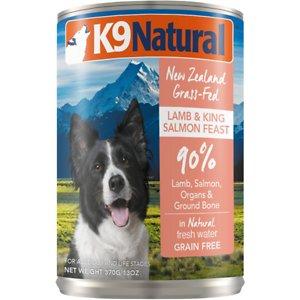 K9 Natural Lamb & King Salmon Grain Free Canned Dog Food