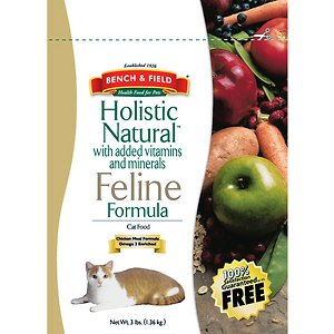 Bench & Field Holistic Natural Formula Dry Cat Food