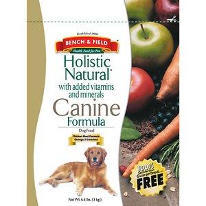 Bench & Field Holistic Natural Formula Dry Dog Food