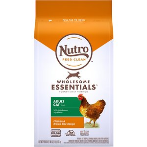 Nutro Wholesome Essentials Adult Chicken & Brown Rice Recipe Dry Cat Food