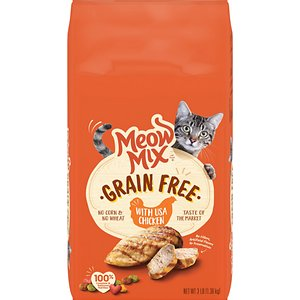 Meow Mix USA Chicken Grain-Free Dry Cat Food