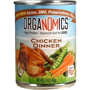 OrgaNOMics Chicken Dinner Organic Grain-Free Pate Wet Dog Food