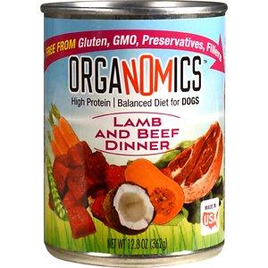 OrgaNOMics Lamb & Beef Dinner Organic Grain-Free Pate Wet Dog Food