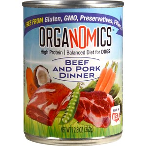 OrgaNOMics Beef & Pork Dinner Organic Grain-Free Pate Wet Dog Food
