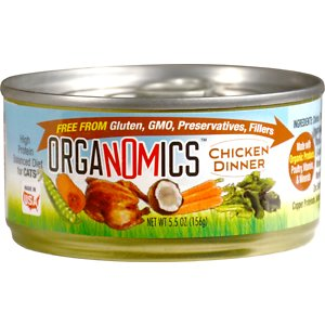OrgaNOMics Chicken Dinner Organic Grain-Free Pate Wet Cat Food