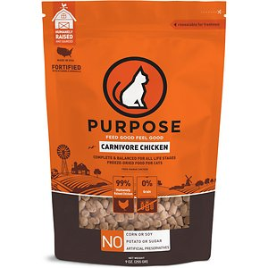 Purpose Carnivore Chicken Freeze-Dried Cat Food