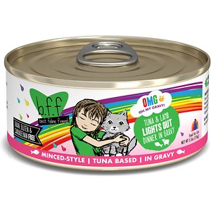 BFF OMG Lights Out! Tuna & Lamb Flavor Wet Canned Cat Food