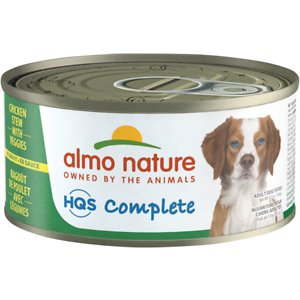 Almo Nature HQS Complete Chicken Stew with Veggies Canned Dog Food