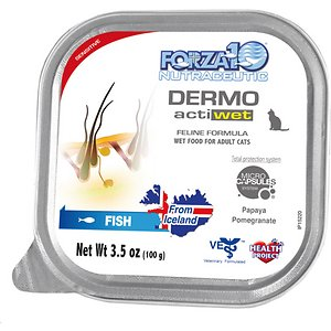 Forza10 Nutraceutic ActiWet Dermo Support Icelandic Fish Recipe Canned Cat Food