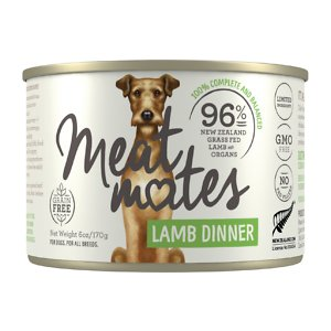 Meat Mates Lamb Dinner Grain-Free Canned Wet Dog Food