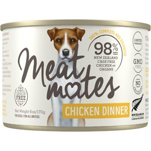 Meat Mates Chicken Dinner Grain-Free Canned Wet Dog Food