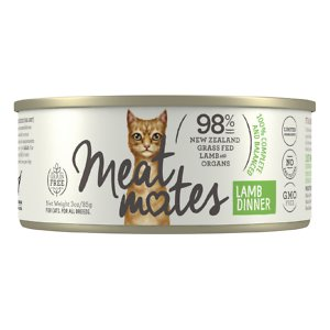 Meat Mates Lamb Dinner Grain-Free Canned Wet Cat Food
