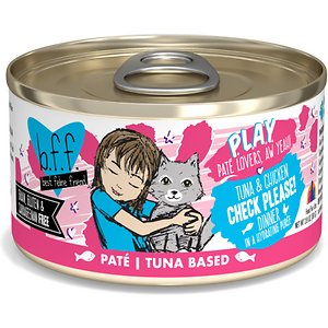 BFF Play Pate Lovers Tuna & Chicken Check Please Wet Cat Food