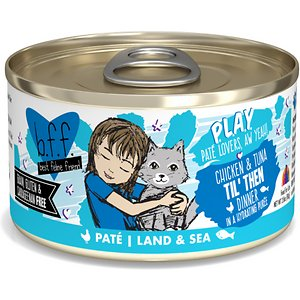 BFF Play Pate Lovers Chicken & Tuna Til' Then Wet Cat Food