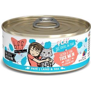 BFF Play Pate Lovers Salmon & Tuna Tuck Me In Wet Cat Food