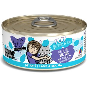 BFF Play Pate Lovers Beef & Tuna Tic Toc Wet Cat Food