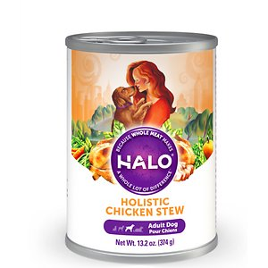 Halo Holistic Chicken Stew Adult Canned Dog Food