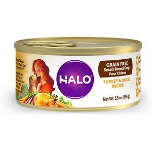Halo Turkey & Duck Recipe Grain-Free Small Breed Canned Dog Food