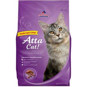 Atta Cat Chicken & Salmon Flavor Dry Cat Food