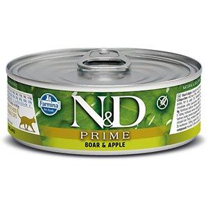 Farmina Natural & Delicious Prime Boar & Apple Canned Cat Food