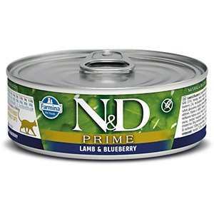 Farmina Natural & Delicious Prime Lamb & Blueberry Canned Cat Food