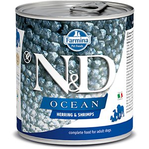 Farmina Natural & Delicious Ocean Herring & Shrimps Canned Dog Food
